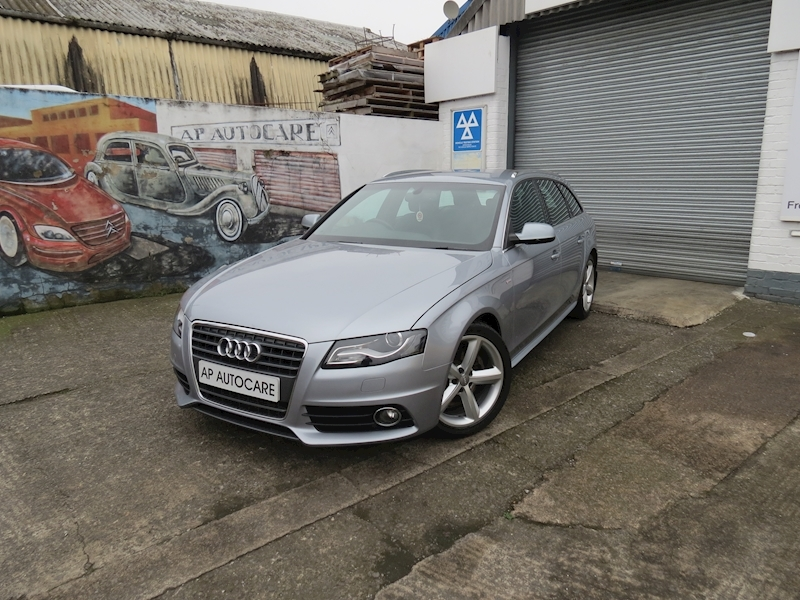 A4 Avant Tfsi S Line Estate 1.8 Manual Petrol