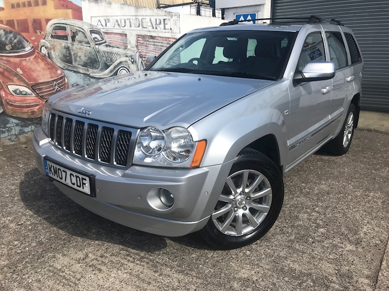 Grand Cherokee V8 Crd Overland Estate 3.0 Automatic Diesel
