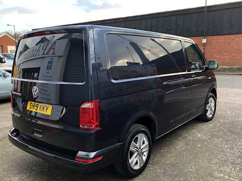 Transporter T6 Tdi P/V Highline Bmt Van With Side Windows 2.0 Manual Diesel
