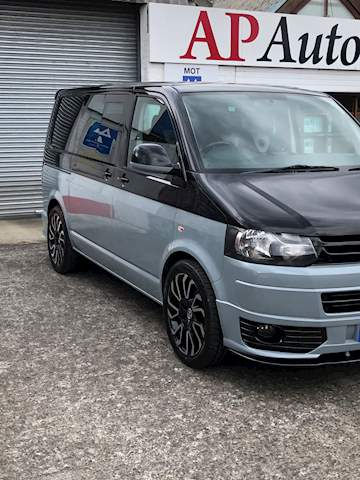 Transporter T5.1 T32 Tdi Kombi Van With Side Windows 2.0 Manual Diesel