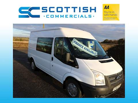 Ford Transit 2.2 TDCi 280 Double Cab-in-Van 5dr Diesel Manual S (EU5, SWB) (198 g/km, 123 bhp) Double Cab-in-Van 2.2 Manual Diesel