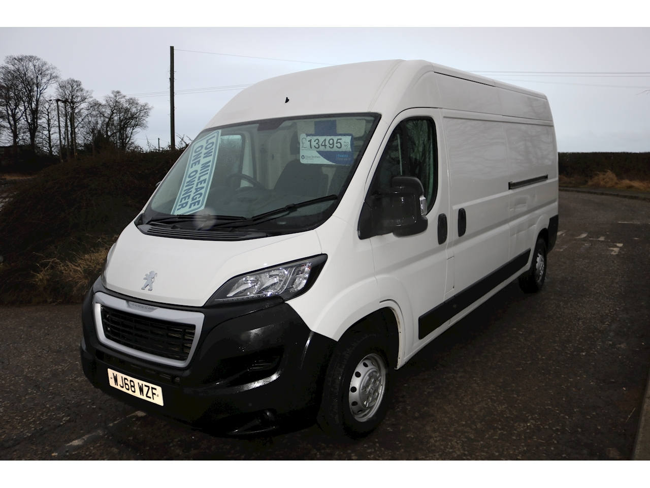 Boxer Blue Hdi 335 L3h2 Professional P/V Panel Van 2.0 Manual Diesel