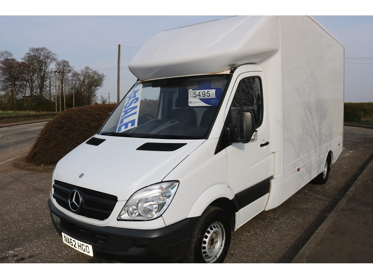 468aaa5f17d457 Used 2012 Mercedes-Benz Sprinter 313 Cdi Luton Van 2.1 Automatic Diesel For  Sale in Broxburn