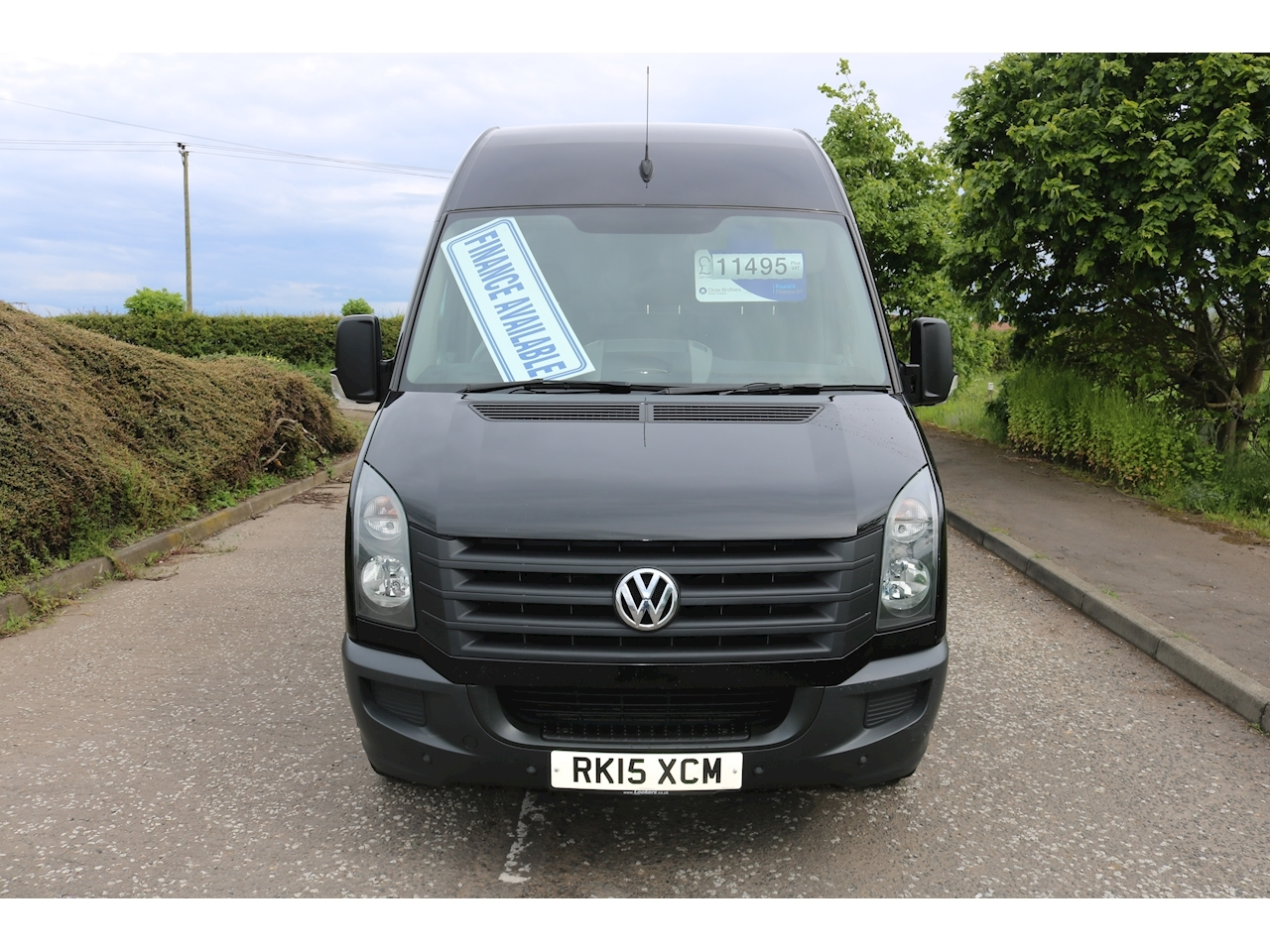 Crafter Cr35 Tdi H/R P/V Panel Van 2.0 Manual Diesel