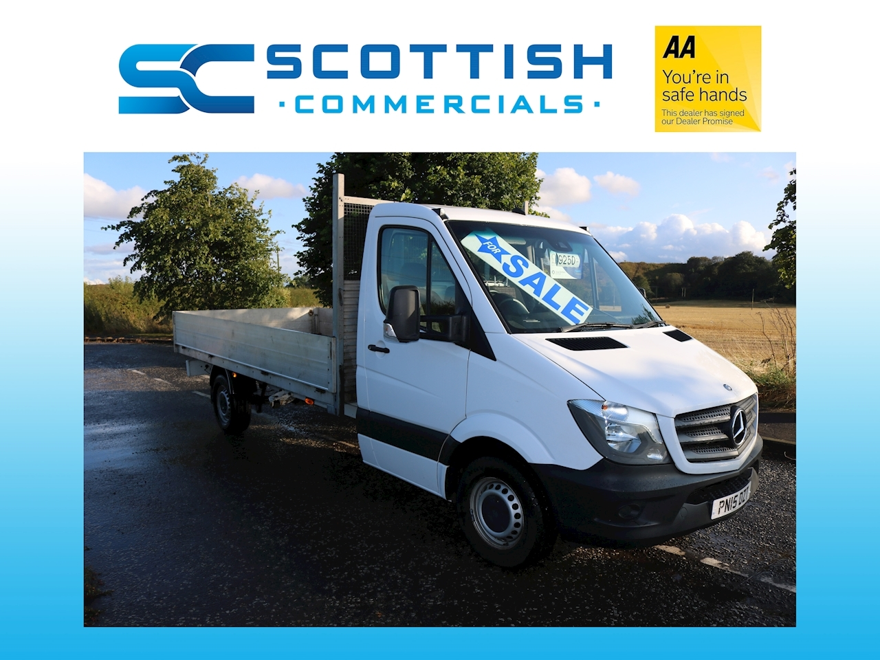 Sprinter 313 Cdi Dropside Lorry 2.1 Manual Diesel