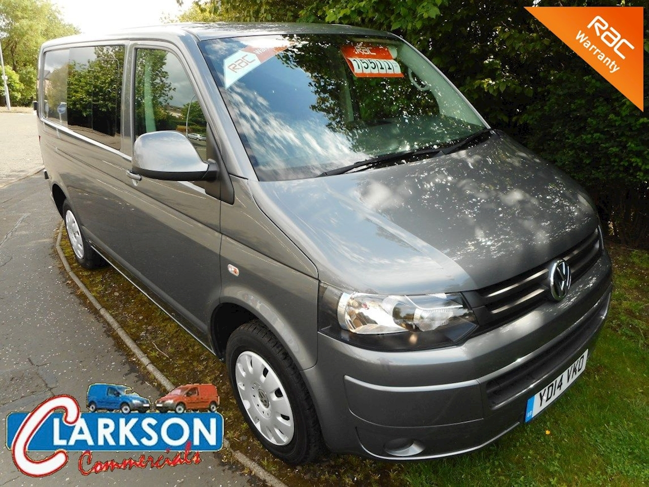 Volkswagen Transporter T32 2.0TDi Kombi Bmt Trendline (see our live video of this vehicle) 2.0 Van With Side Windows Manual Diesel