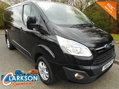 Ford Transit Custom 290 Limited 125ps - very high spec, lovely low mileage. A stunning van that ticks every box ...