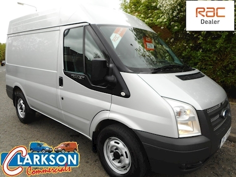 Ford Transit 330 SWB Medium Roof, 2.2TDCi / 125ps / 6 speed in Moondust silver (U3063)