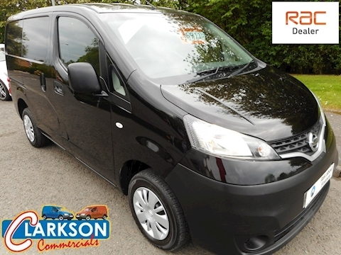 Nissan Nv200 1.5 Dci Acenta in factory black, high spec / great looking van (U3079)