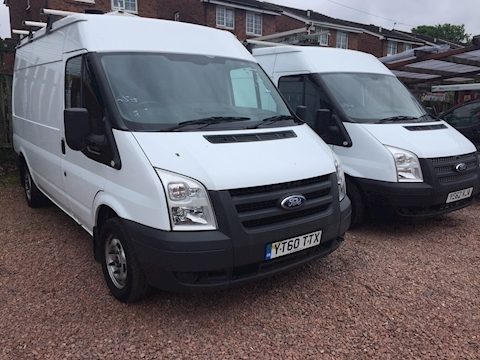 Ford Transit 280 Medium wheelbase / medium roof , 53000 miles & full servcie history (U3085)