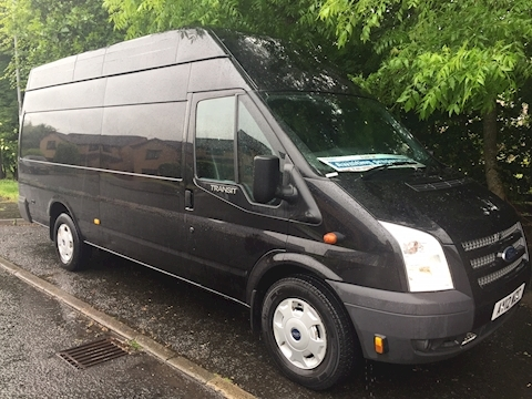 Ford Transit T350 EL-LWB 125ps Jumbo, Trend with AC etc in black (U3095)