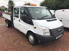 Ford Transit T350 115ps Double Cab Tipper