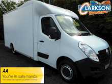 Vauxhall Movano F3500 Lo Loader box van 4.2m internal length (low loader U3160)