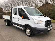 Ford Transit (JUST IN) 2015 350 'One Stop' crewcab tipper with just 24000 miles. 01417713990