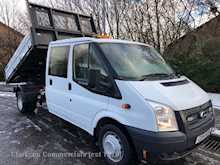 Ford Transit 350 125ps OneStop alloy crewcab tipper ex Local authority