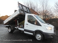 Ford Transit 350 'OneStop' alloy factory built tipper just 22000 miles - Thumb 0