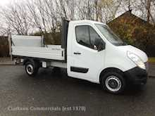 Renault Master ML35 Dci 125 alloy dropside with hydraulic taillift