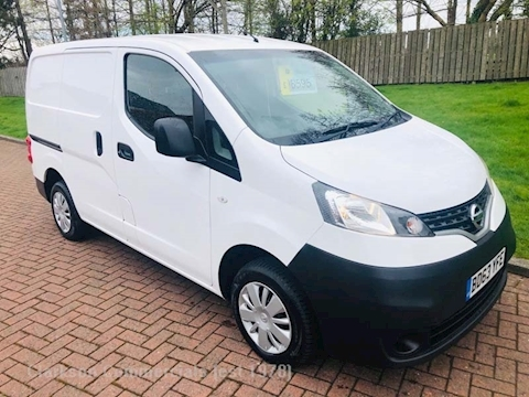 Nissan Nv200 Dci Acenta ex British Gas, air con, racking system