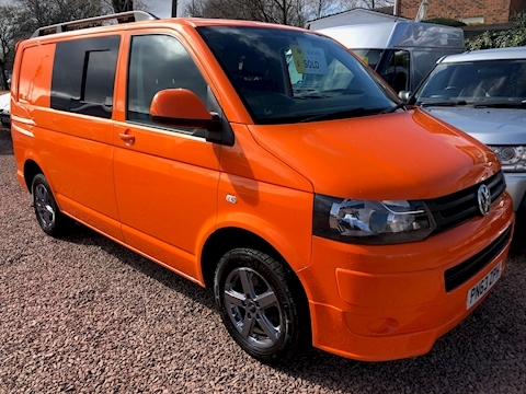 Volkswagen Transporter T32 Tdi 140ps / 6 speed brand new insulated day van conversion