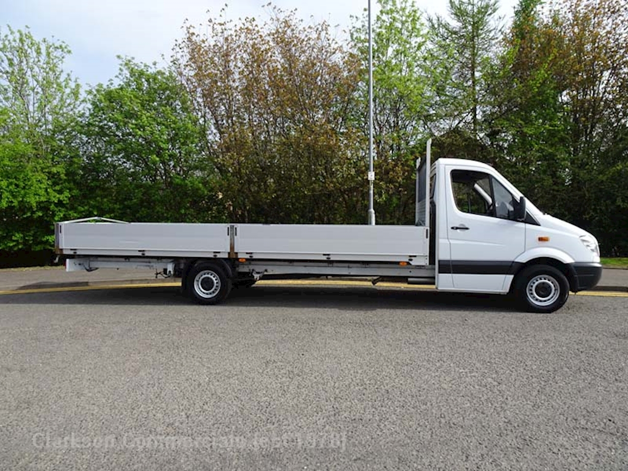 b3db3cd779 Mercedes-Benz Sprinter 313 Cdi extra long wheelbase 6m alloy dropsde. Low  cost UK delivery