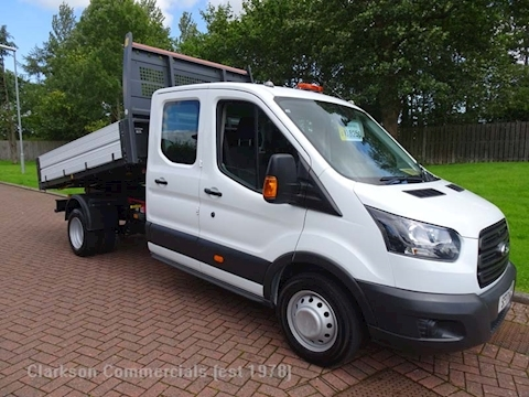 Ford Transit 350 2.0TDCi 'OneStop' alloy crewcab tipper