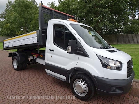 Ford Transit 350 'OneStop' alloy bodied single cab tipper