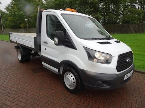 Ford Transit 350 OneStop alloy bodied factory tipper