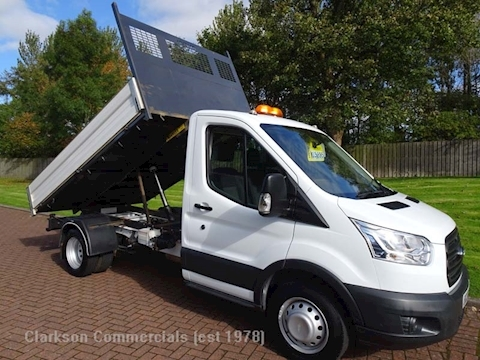 Ford Transit (2017) 350 125ps single cab tipper