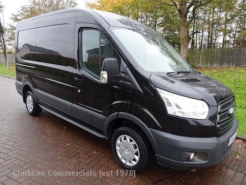 Ford Transit 310 L2H2 Trend in metallic black with aircon etc