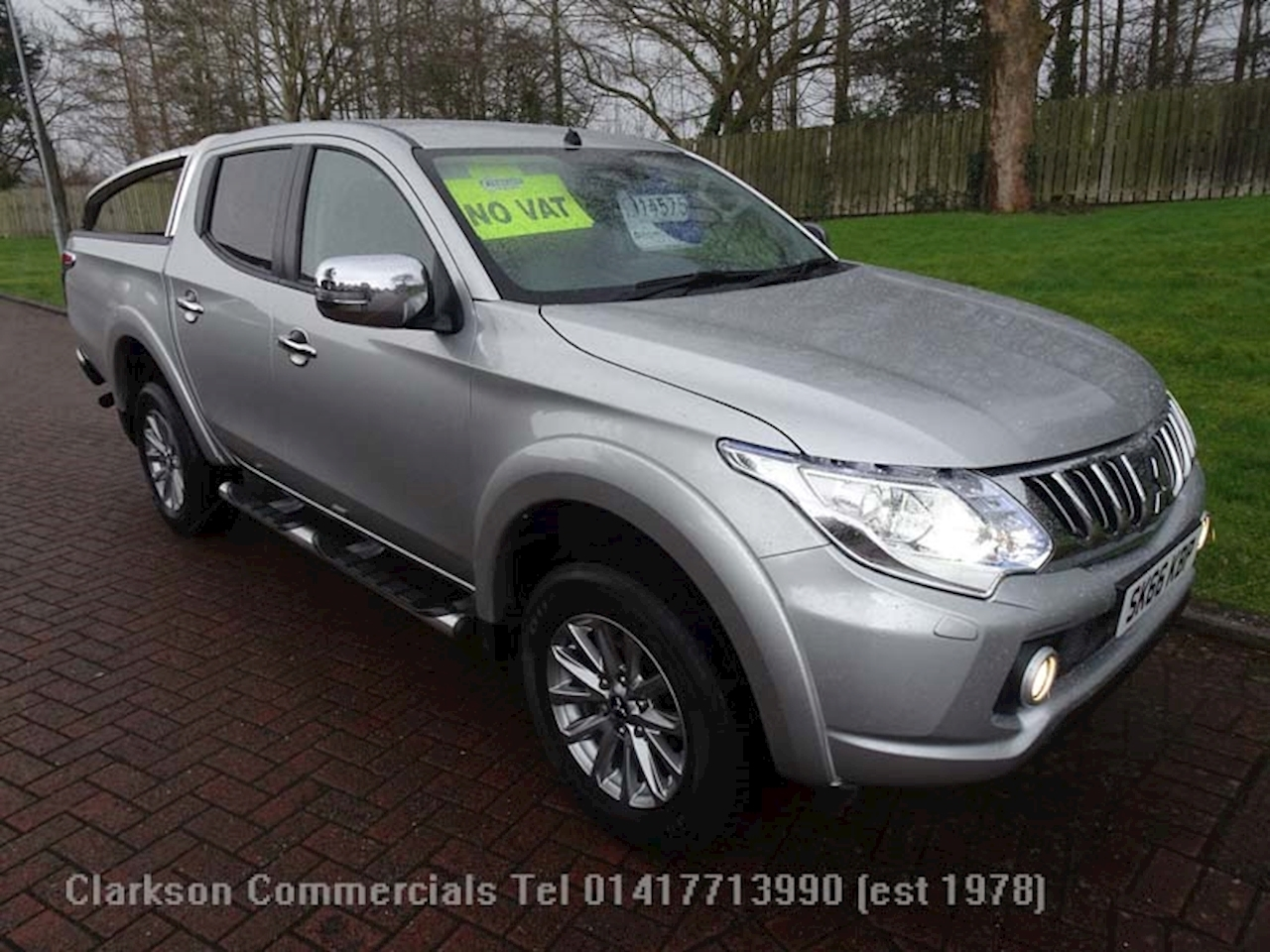 Mitsubishi L200 Di-D 4X4 Barbarian Dcb Pick-Up 2.4 Automatic Diesel
