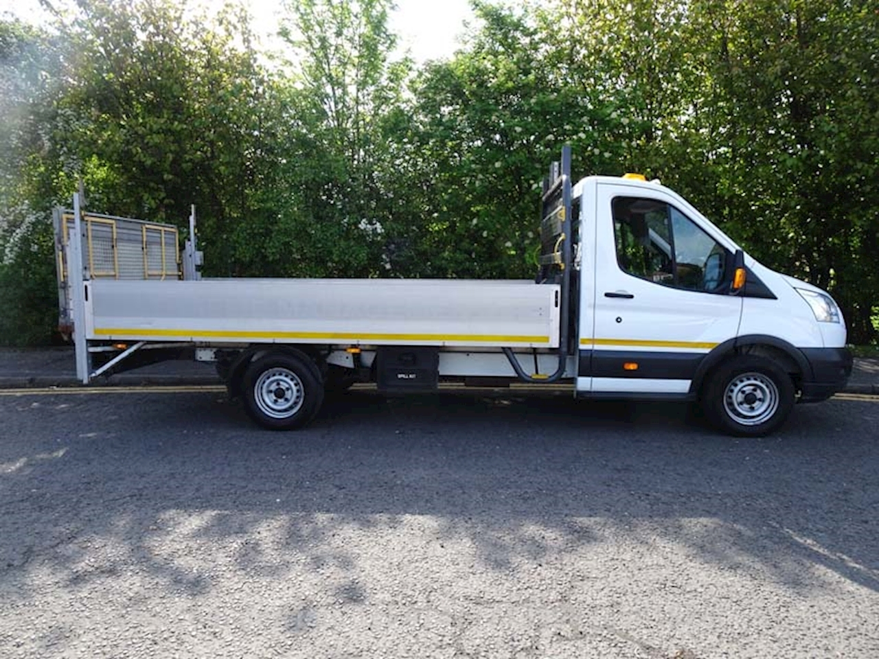 Ford Transit 350 L4 extended frame long wheelbase alloy dropside with taillift 2.2 Dropside Lorry Manual Diesel