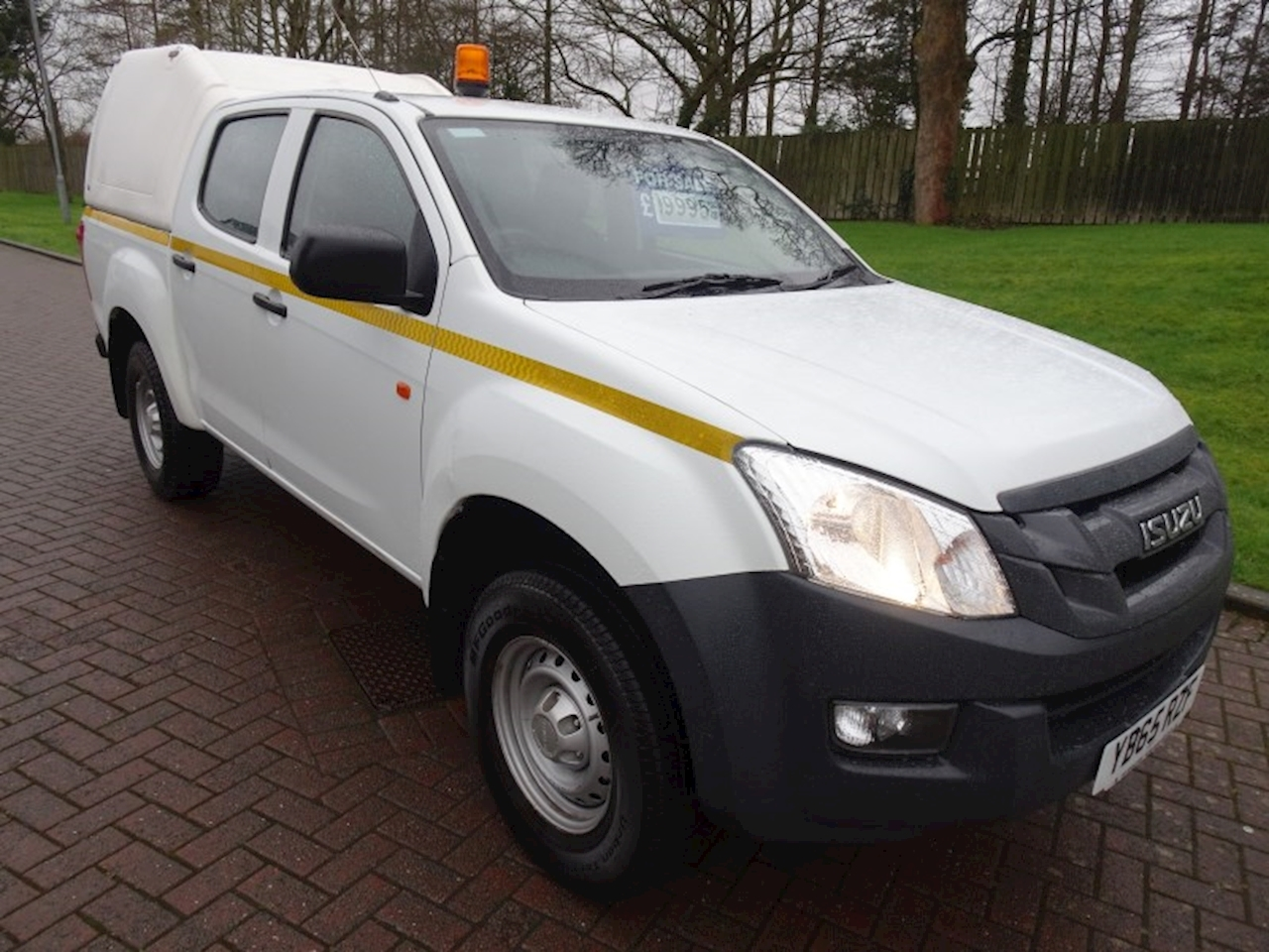 Isuzu D-Max Td Dcb Pick-Up 2.5 Manual Diesel