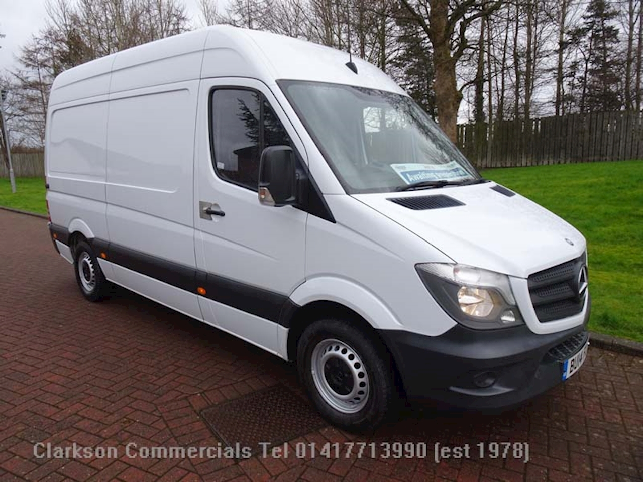 Mercedes-Benz Sprinter 313 Cdi  Medium wheelbase / medium roof, 2.1 Panel Van Manual Diesel