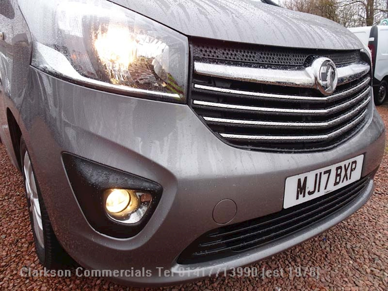 Vauxhall Vivaro 2700 L1H1 Limted Edition CDTi BiTurbo in oyster grey, 1.6 Panel Van Manual Diesel