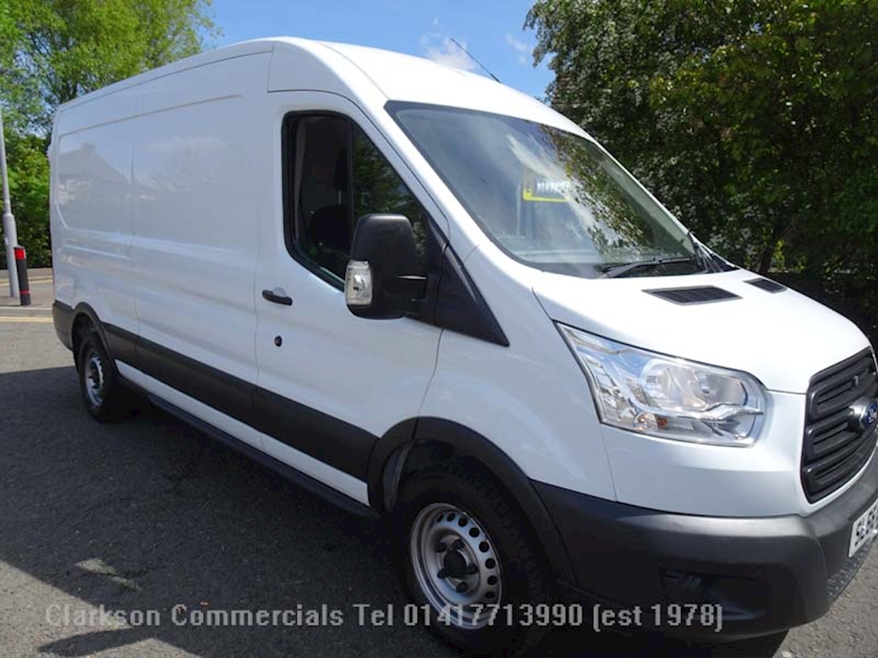 Ford Transit 350 LWB L3H2 with just 36000 miles 2.2 Panel Van Manual Diesel
