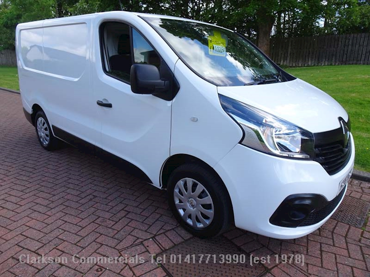 Renault Trafic SL27 DCi120 Business Plus Dci 1.6 Panel Van Manual Diesel