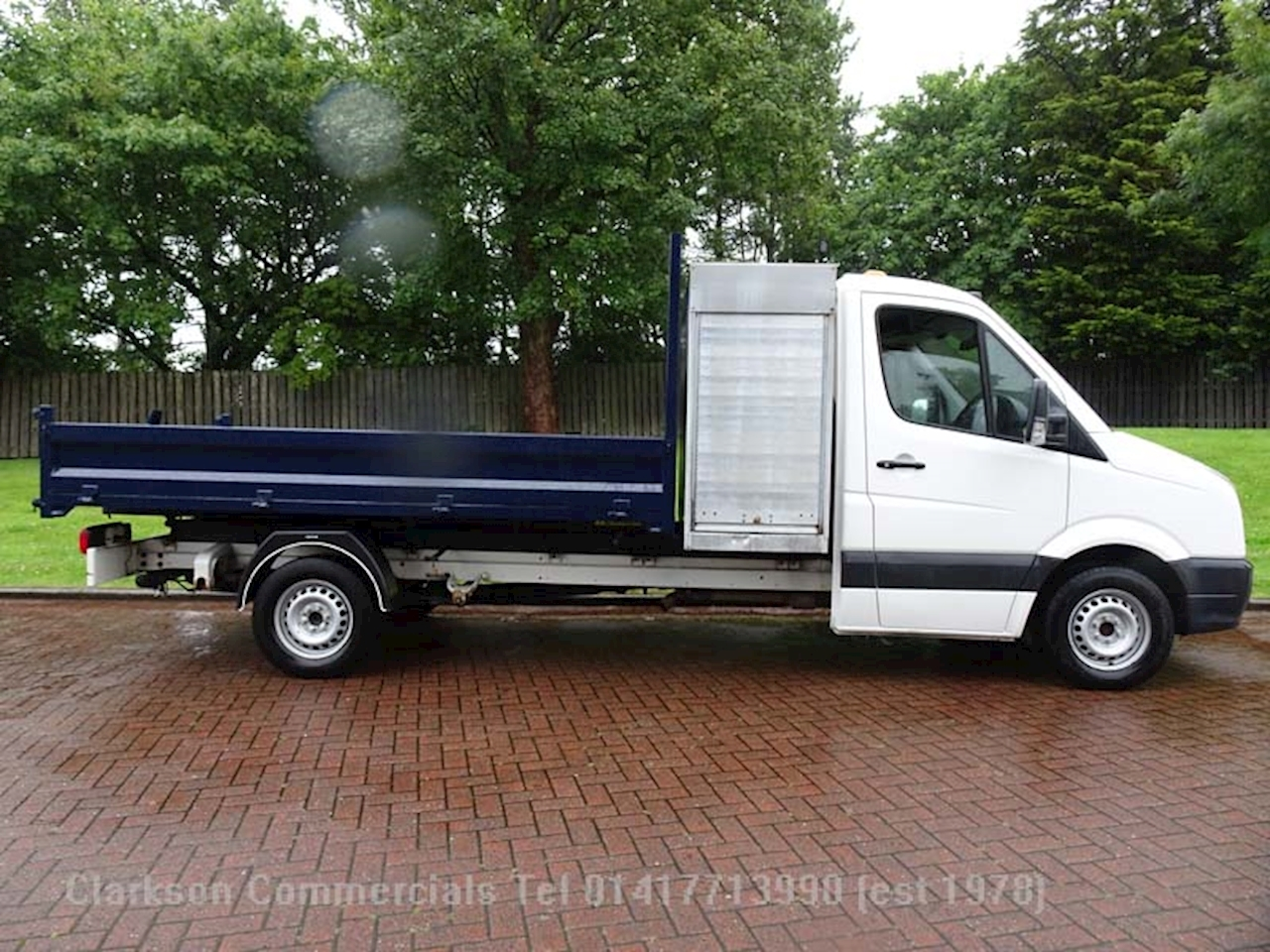 Volkswagen Crafter CR35 2.0TDi BlueMotion LWB tipper 140ps/6speed, 2.0 Tipper Manual Diesel
