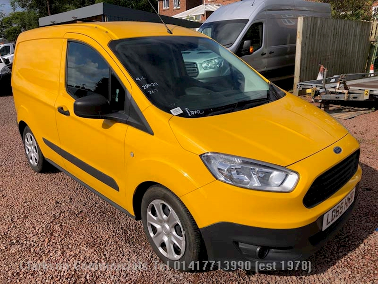 Ford Transit Courier Trend Tdci Ex AA management 1.6 Panel Van Manual Diesel