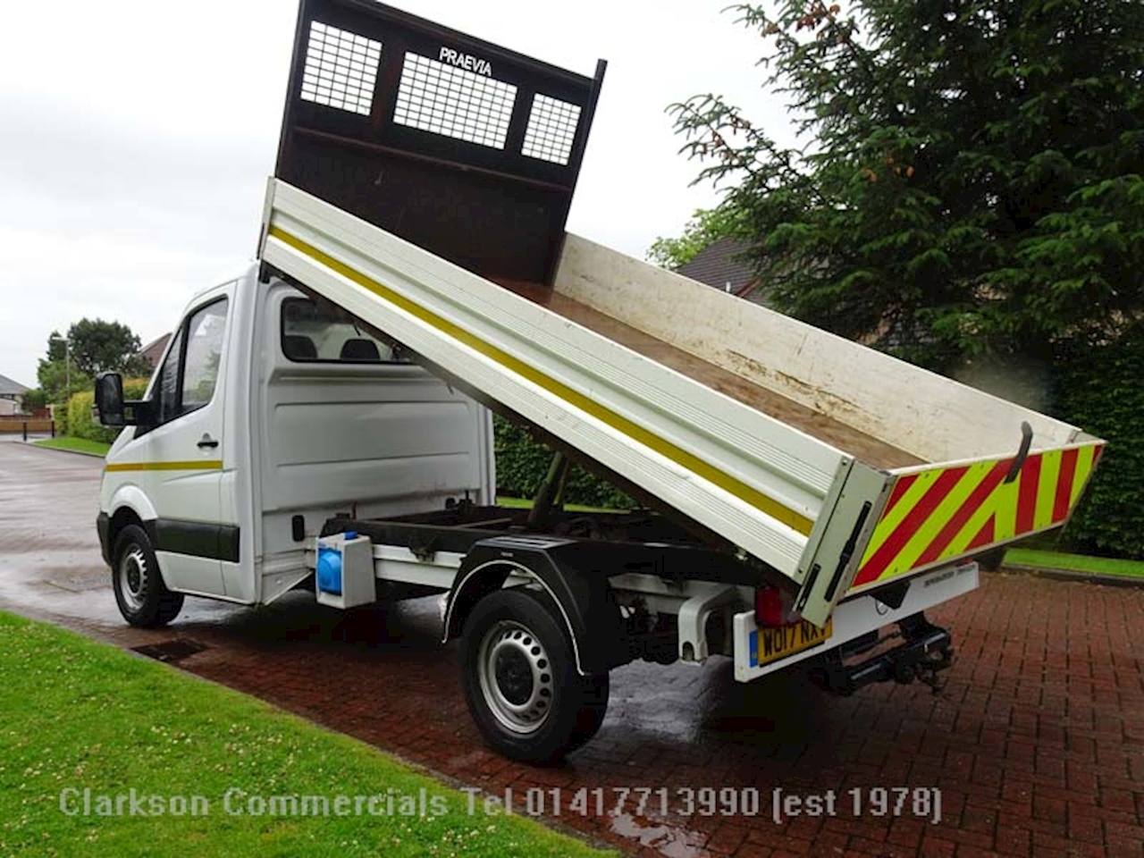 Mercedes-Benz Sprinter 314Cdi Single cab tipper, one owner, 54900, alloy capes 2.1 Tipper Manual Diesel