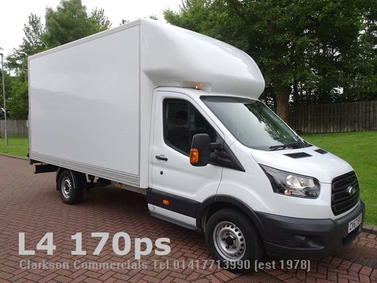 Ford Transit 350 L4 (EF-LWB) GRP luton & taillift, 2.0TDCi / big 170ps output 2.0 Luton Van Manual Diesel