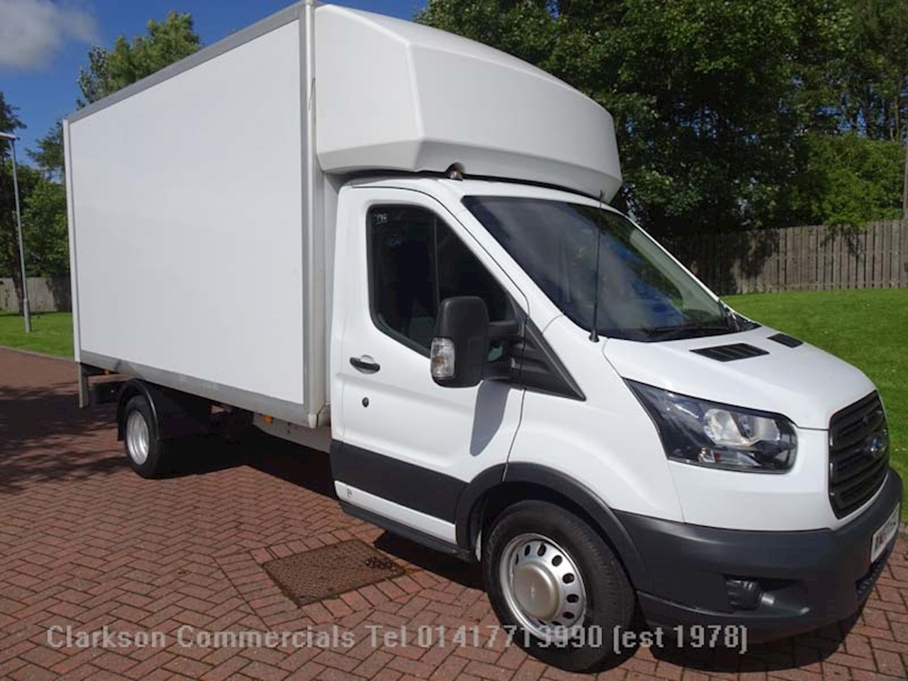 Ford Transit 350 2.0TDCi / 130ps L3 LWB GRP luton with 500kg tallift 2.0 Luton Van Manual Diesel