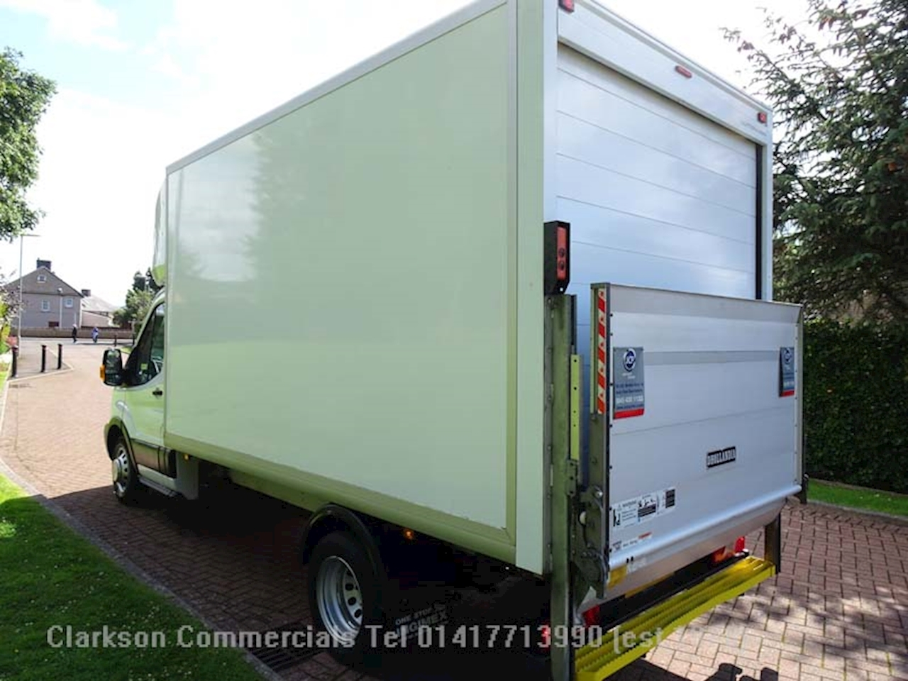 Transit 350 2.0TDCi / 130ps L3 LWB GRP luton with 500kg tallift 2.0 Luton Van Manual Diesel