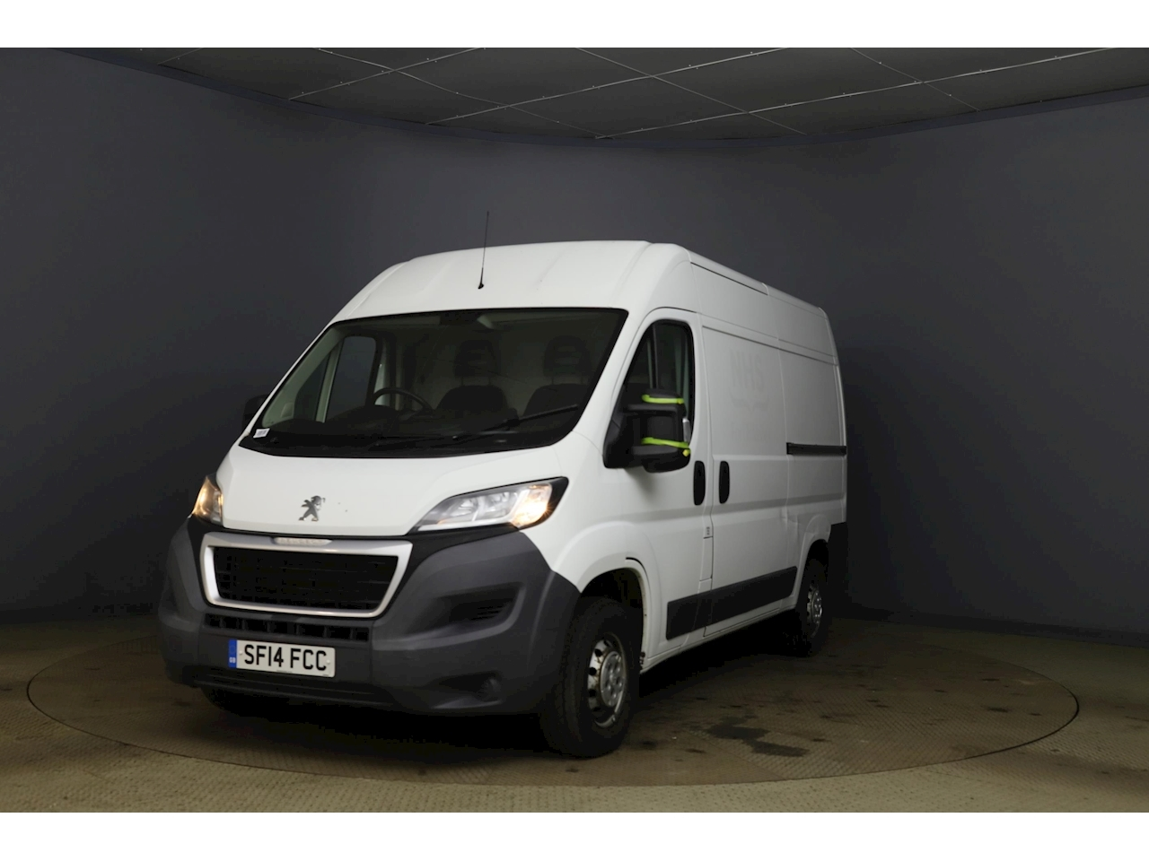 Peugeot Boxer 2.2 HDi 333 Panel Van 5dr Diesel Manual L2 H2 EU5 (110 ps) Panel Van 2.2 Manual Diesel