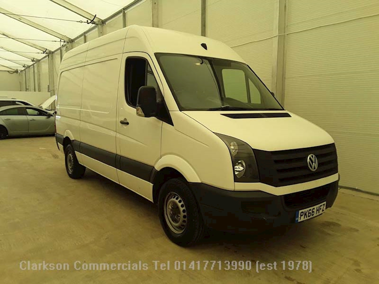Volkswagen Crafter CR35 2.0TDi Medium wheelbase (L2H2) 2.0 4dr Medium wheelbase Manual Diesel