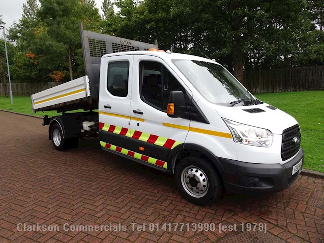 Ford Transit 2.2 TDCi 350 Double Cab Chassis Cab 4dr Diesel Manual RWD L3 H1 EU5 (DRW) (125 ps) Double Cab Chassis Cab 2.2 Manual Diesel