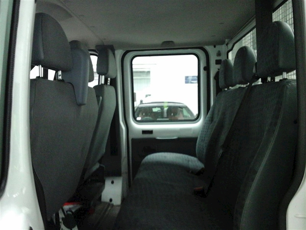 Ford Transit 350 2.2TDCi caged double cab tipper 2.2 Chassis Cab Manual Diesel