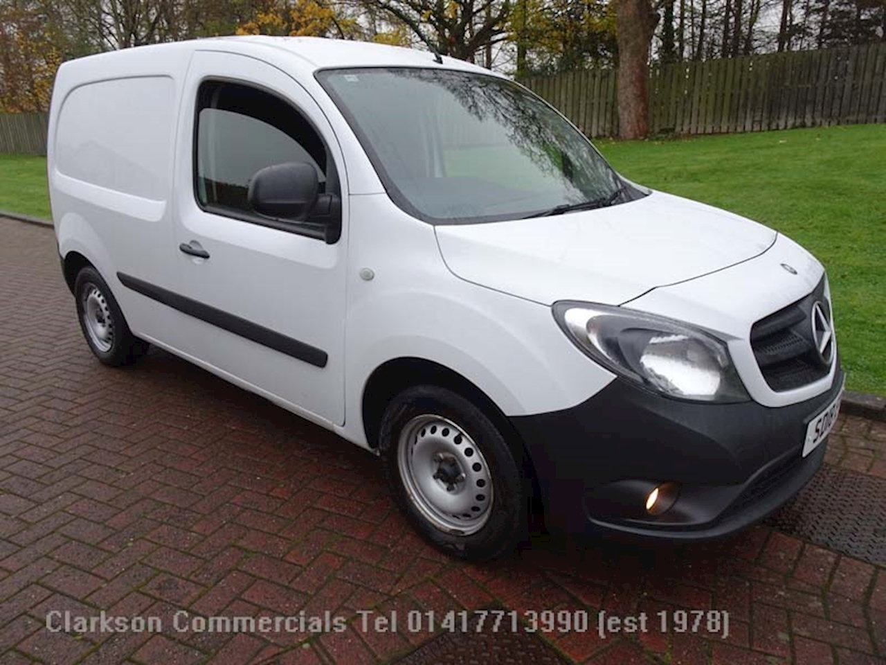 Mercedes-Benz Citan 1.5 109 Cdi BlueEFFICIENCY Panel Van 5dr Diesel Manual (90 ps) 1.5 5dr Panel Van Manual Diesel