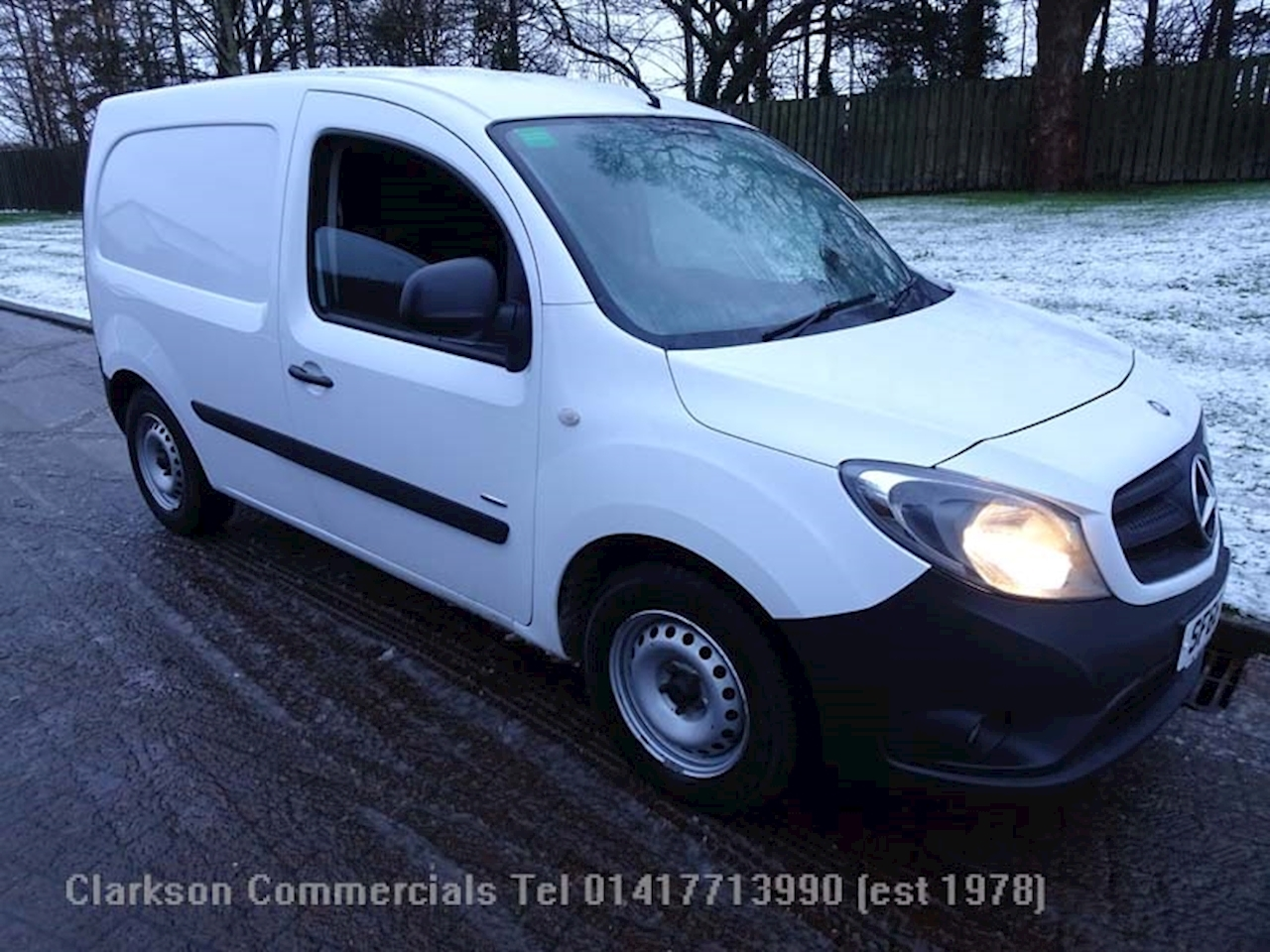 Mercedes-Benz Citan 1.5 109 CDi BlueEFFICIENCY Panel Van Diesel Manual 1.5 5dr Panel Van Manual Diesel