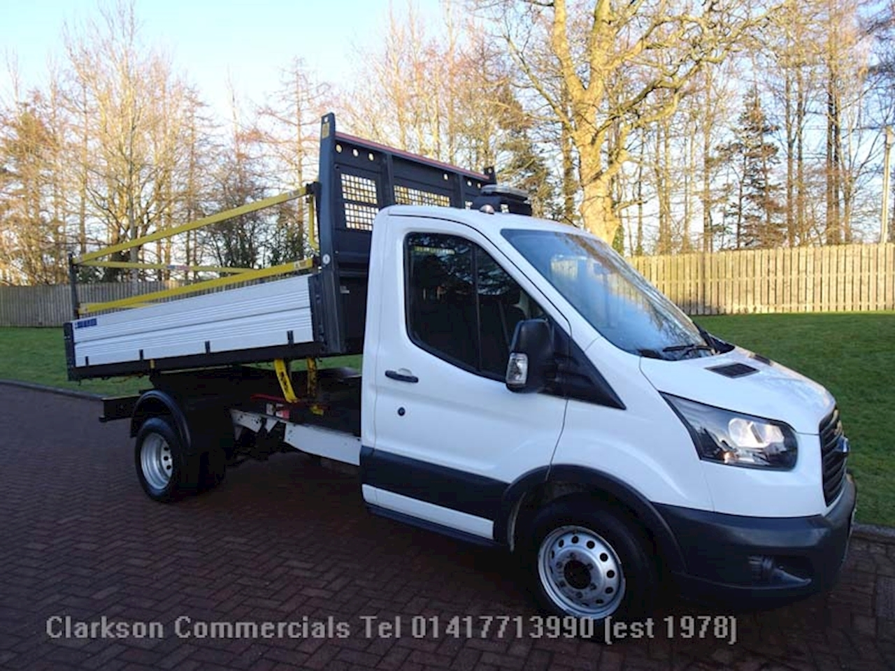 Ford 350 2.0 EcoBlue OneStop Tipper Diesel Manual RWD