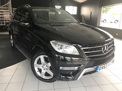Mercedes M-Class Ml250 Bluetec Amg Sport